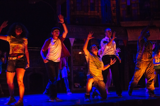 The Cast of In The Heights. Photo by Os Galindo